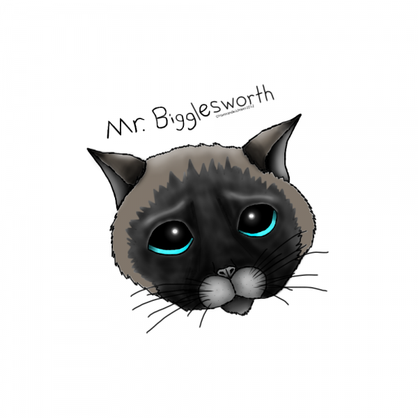 Mr Bigglesworth from HamSandwichtees.com